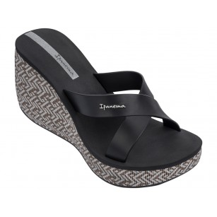 Дамски чехли на платформа Ipanema LIPSTICK STRAPS IV FEM черни