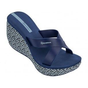 Дамски чехли на платформа Ipanema LIPSTICK STRAPS IV FEM сини