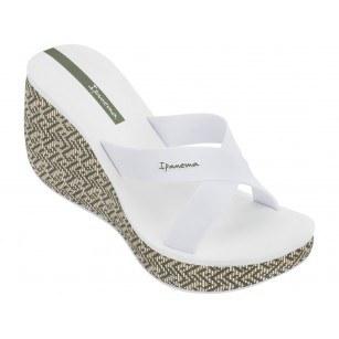 Дамски чехли на платформа Ipanema LIPSTICK STRAPS IV FEM бели