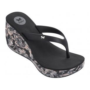 Дамски чехли на платформа Zaxy LIPSTICK VI FEM черни
