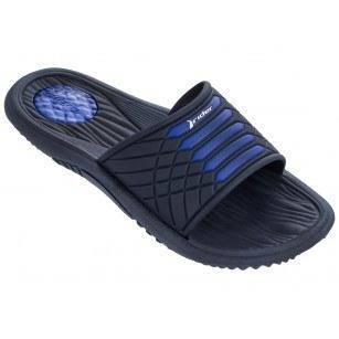 Мъжки анатомични чехли Rider MONTANA VII AD черни/сини