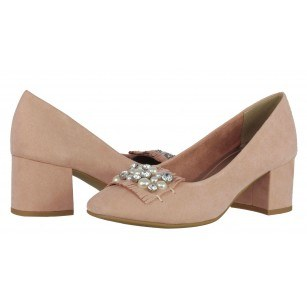 Дамски обувки на ток Marco Tozzi мемори пяна розови