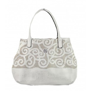 Дамска чанта голяма Marina Galanti® Firenze бяла
