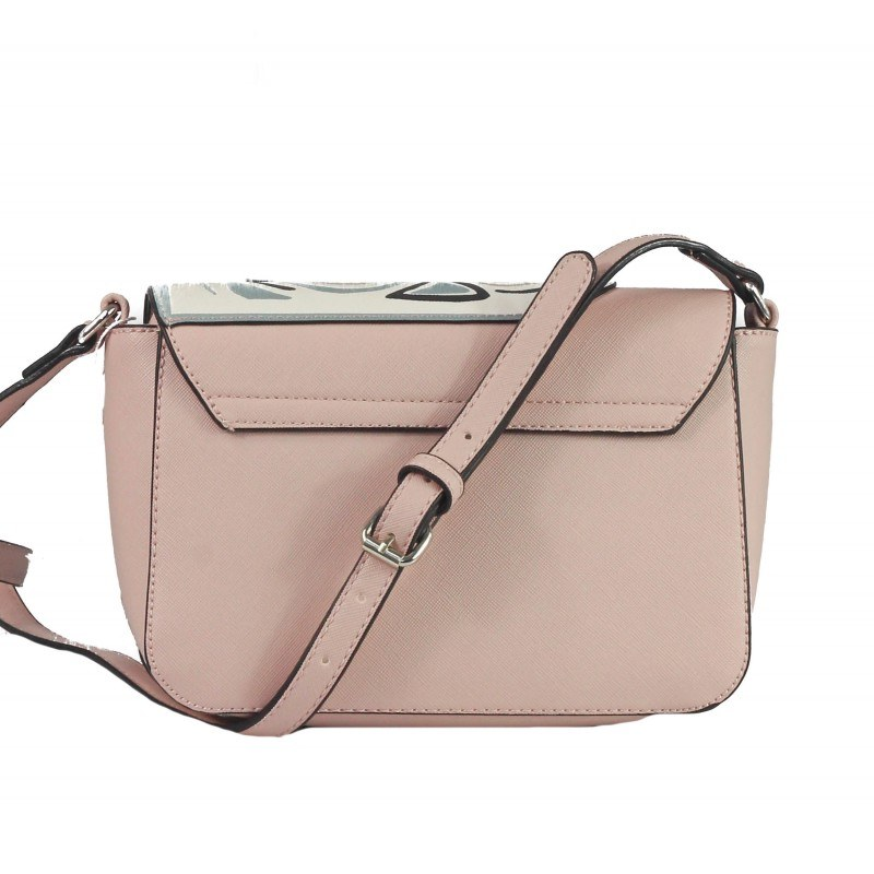 Дамска малка чанта през тяло Marina Galanti® Firenze розова