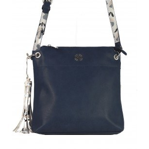 Дамска малка чанта през тяло Marina Galanti® Firenze синя