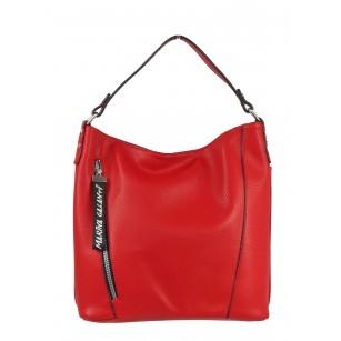 Дамска средна чанта Marina Galanti® Firenze червена