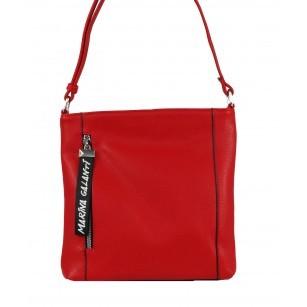 Дамска малка чантa през тяло Marina Galanti® Firenze червена