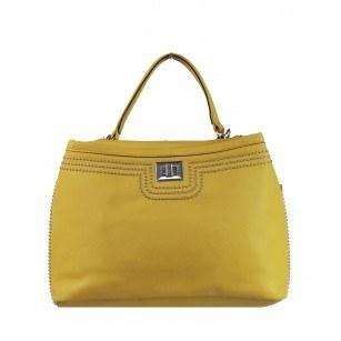 Дамска средна чанта Marina Galanti® Firenze жълта