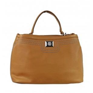 Дамска средна чанта Marina Galanti® Firenze кафява
