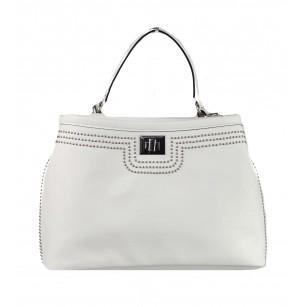Дамска средна чанта Marina Galanti® Firenze бяла