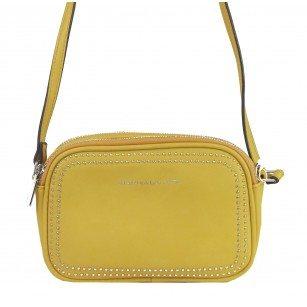 Дамска малка чанта през тяло Marina Galanti® Firenze жълта
