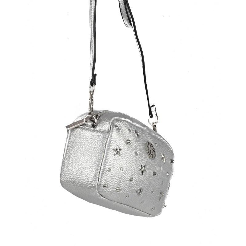 Дамска малка чанта през тяло Marina Galanti® Firenze сребриста
