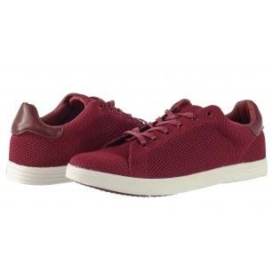 Мъжки спортни обувки с връзки Otas червени