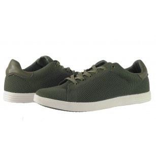 Мъжки спортни обувки с връзки Otas зелени