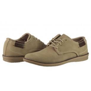 Мъжки елегантни обувки Otas бежови