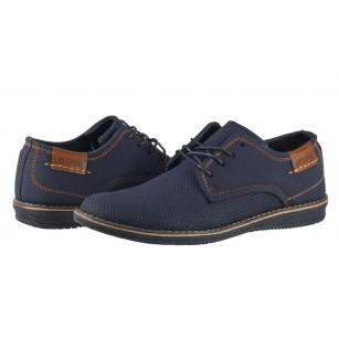 Мъжки елегантни обувки Otas сини