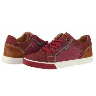 Мъжки ежедневни обувки с връзки Otas червени