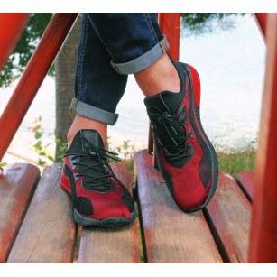 Мъжки маратонки Otas камуфлаж червени