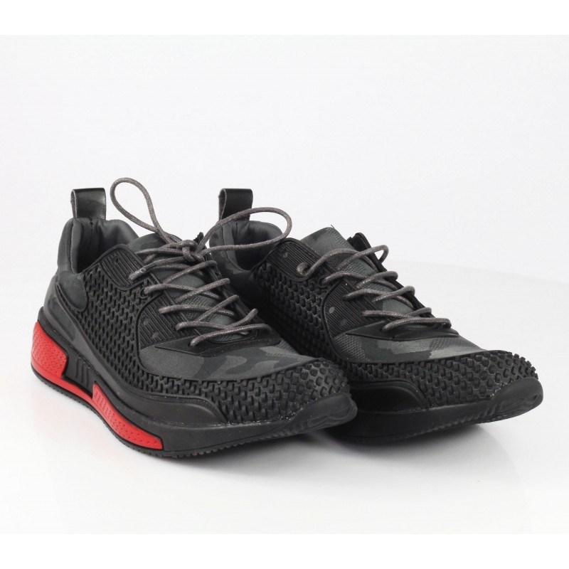 Мъжки маратонки Otas камуфлаж черни