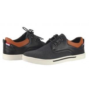 Мъжки ежедневни обувки с връзки Otas черни