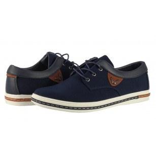 Мъжки спортни обувки с връзки Otas American Eagle сини