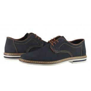 Мъжки обувки от естествена кожа Rieker B14B5-14