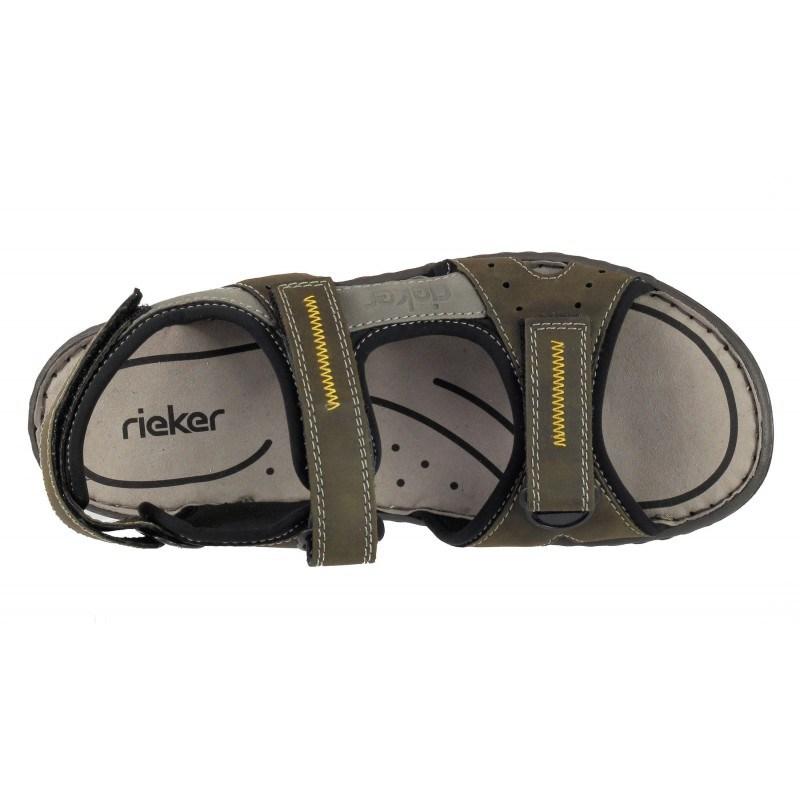 Мъжки анатомични сандали Rieker зелени 26157-54