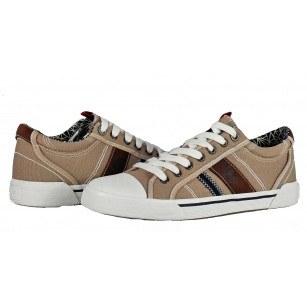 Мъжки спортни обувки с връзки S.Oliver бежови