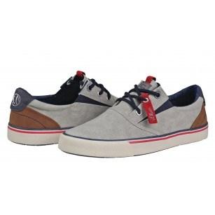 Мъжки спортни обувки с връзки S.Oliver сиви