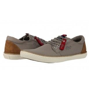 Мъжки спортни обувки с връзки S.Oliver сиви еспадрил