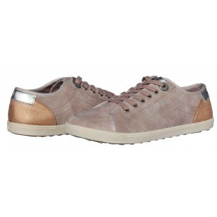 Дамски спортни обувки с връзки S.Oliver розови мемори пяна
