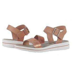 Дамски сандали от естествена кожа S.Oliver розови
