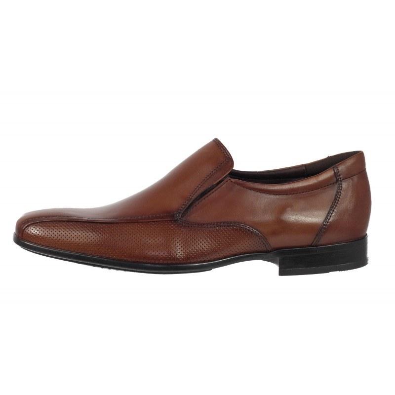 Елегантни мъжки обувки от естествена кожа Salamander кафяви