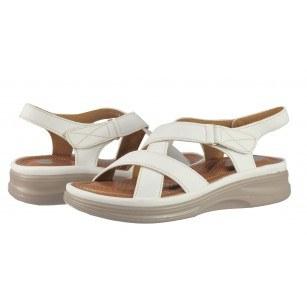 Дамски анатомични сандали Solfit Eris бели