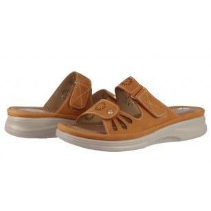 Дамски анатомични чехли Solfit Diana оранжеви