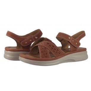 Дамски анатомични сандали Solfit Candi кафяви