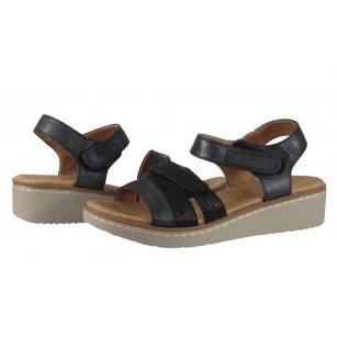 Дамски анатомични сандали Solfit черни