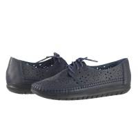 Дамски анатомични обувки с перфорация Solfit Angelica сини