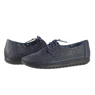 Дамски анатомични обувки с перфорация Solfit сини