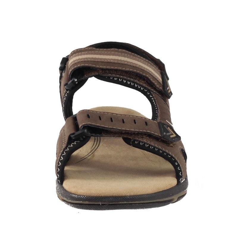 Мъжки анатомични сандали с лепки Sprox кафяви