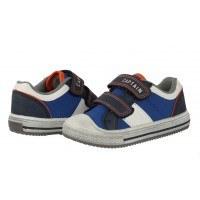 Детски спортни обувки с велкро/лепки Sprox сини/бели за момче