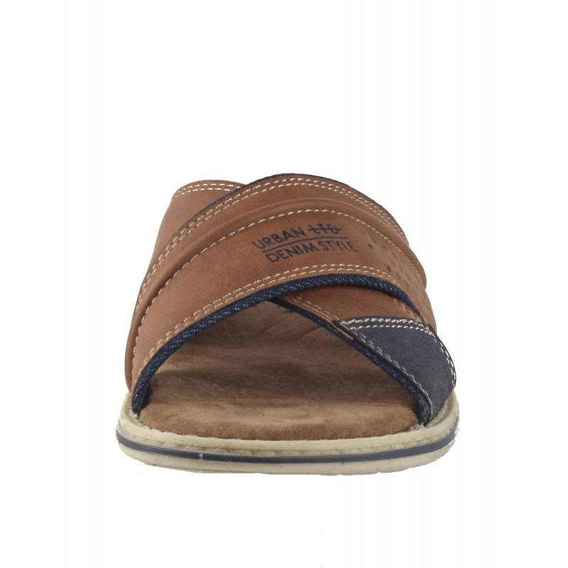 Мъжки анатомични чехли Sprox кафяви