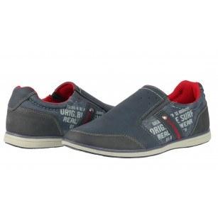 Мъжки спортни обувки без връзки Sprox сини