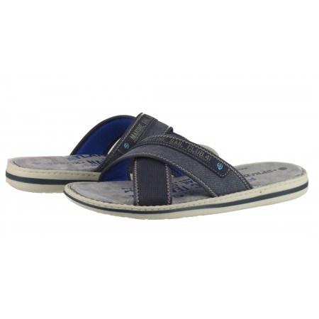 Мъжки анатомични чехли Sprox сини/сиви