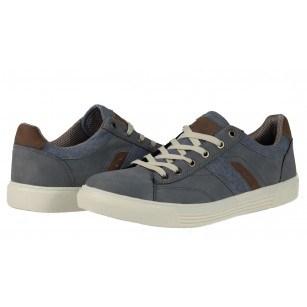 Мъжки спортни обувки с връзки Sprox сини