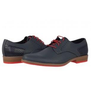 Елегантни мъжки обувки с връзки Sprox сини