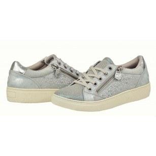 Дамски равни спортни обувки с връзки Sprox сиви