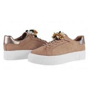 Дамски спортни обувки Tamaris розови мемори пяна
