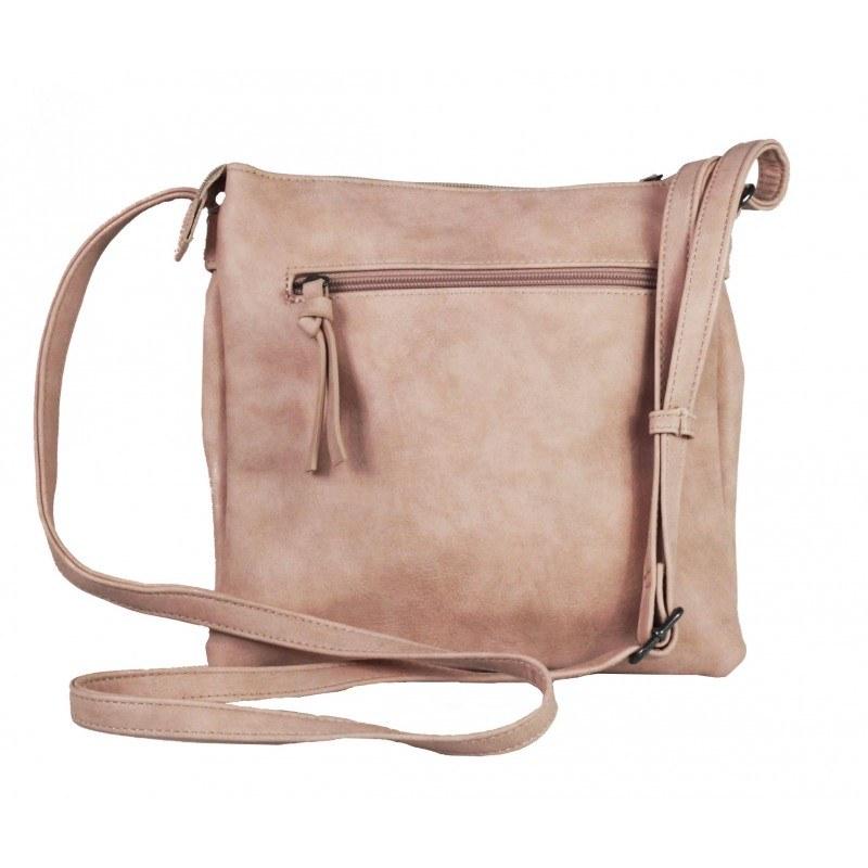 Дамска средна чанта Tamaris розова