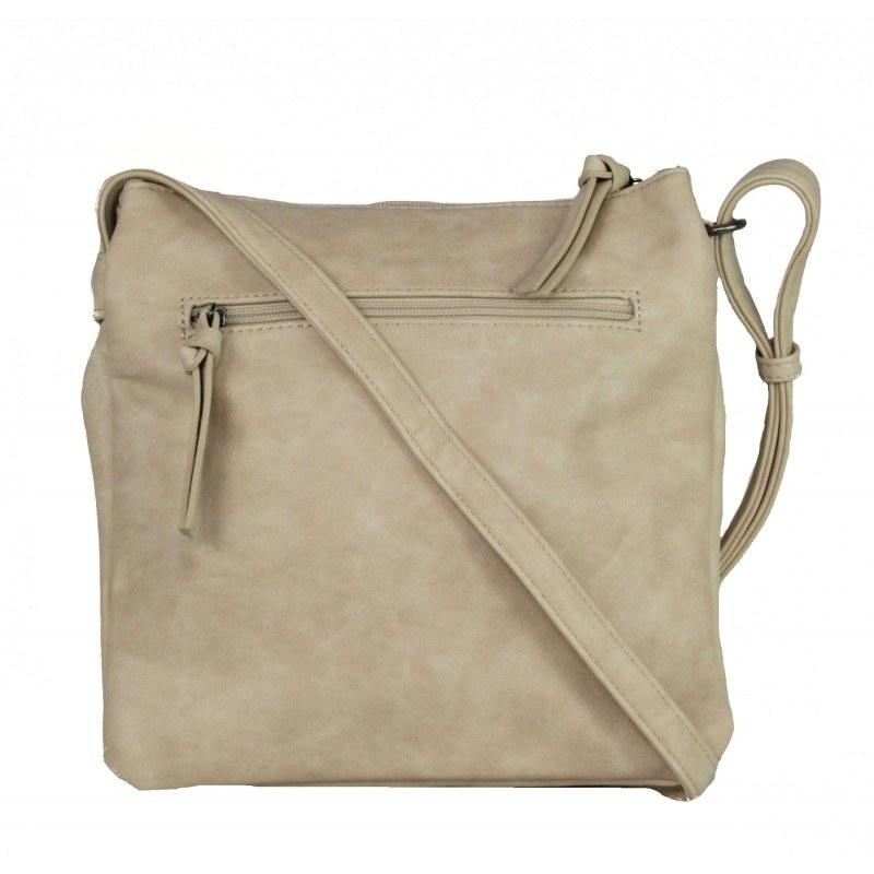 Дамска средна чанта Tamaris бежова